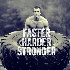 The only bad workout is the one that didn't happen, so wake up and work out right now Faster! Harder! Stronger!