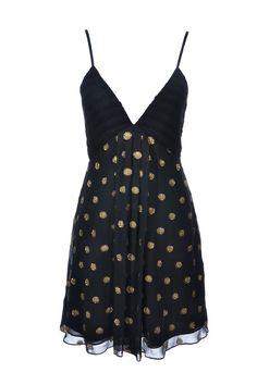 #Temperley London | #PolkaDot #Dress aus feinem Seidenmix, Gr.M | Temperley Dress | mymint-shop.com | Ihr #OnlineShop für #Secondhand / #Vintage Designerkleidung & Accessoires bis zu -90% vom Neupreis das ganze Jahr #mymint