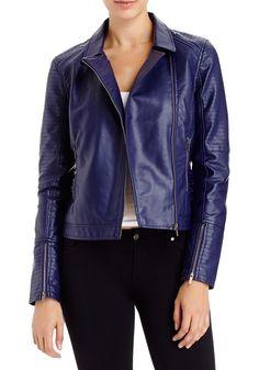 2b   Moto Stitch Jacket - Leatherette