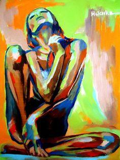 """Helena Wierzbicki; Acrylic 2013 Painting """"""""Hope"""""""""""