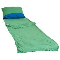 Grand Trunk Bamboo Sleep Sack Green One Size *** Want additional info? Click on the image.