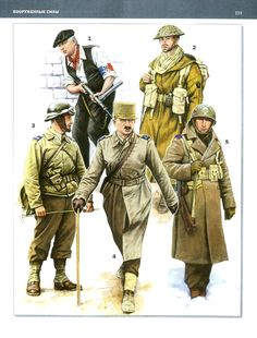 Ww2 Uniforms, Military Uniforms, Military Cards, Free In French, Army Uniform, French Army, France, Military History, World War Two