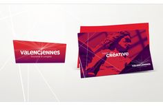 """Création d'une marque touristique pour l'office de tourisme de Valenciennes Métropole. """"L'étincelle créative"""" : http://www.souple.fr/references/office-de-tourisme-valenciennes-metropole/"""