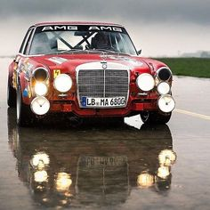 The Red Pig | AMG 300 SEL 6.8