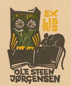 Art-exlibris.net - exlibris by Zbigniew Dolatowski for Ole Steen Jørgensen