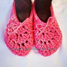 Crochet Woman's Slippers