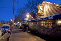 """""""Chatham Squire Restaurant Exterior"""" ~ This is the exterior of Chatham Squire Restaurant in  Chatham, Cape Cod, Massachusetts."""