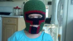 Boba Fett ski mask