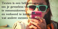Quote van de week: texting miscommunicatie -- Tekstbureau Van Ginneken