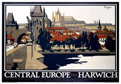 vintage travel posters europe - Google Search