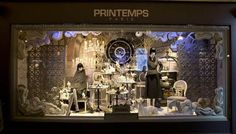 The Holiday 2012 Dior Windows at Printemps, Paris
