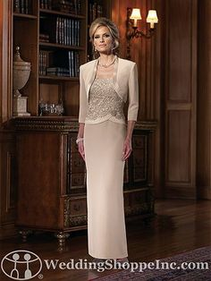 Mother of the Bride Dresses - - Sheath/Column Square Neckline Floor-Length Chiffon Lace Mother of the Bride Dress With Flower(s) Mother Of Groom Dresses, Bride Groom Dress, Bride Gowns, Mothers Dresses, Mother Of The Bride, Mob Dresses, Bridesmaid Dresses, Wedding Dresses, Party Dresses