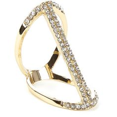Tresor Idol Ring $24 via Tresors De Luxe  ~ LUXE Jewelry