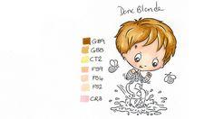 Dark blond Hair colouring - Spectrum Noir