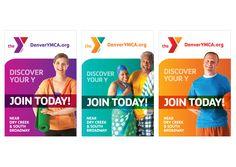 YMCA January Membership Campaign @ upandupcreative.com