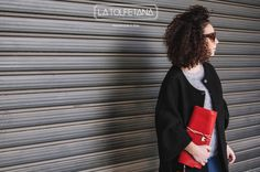 Clutch 134 Rossa - Available only on our Shop Online www.latolfetana.com