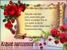 at ImageHosting.cz - Hosting pro tvoje fotky a obrazky Birthday Wishes, Origami, Album, Flowers, Google, Love, Special Birthday Wishes, Origami Paper, Royal Icing Flowers