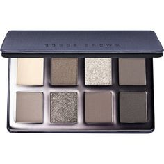 Bobbi Brown Greige Eye Palette (175 BRL) ❤ liked on Polyvore featuring beauty products, makeup, eye makeup, eyeshadow, bobbi brown cosmetics and palette eyeshadow