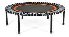 bellicon® Mini-Trampolin, 112 cm, schwarz-orange, silber