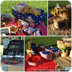 COUNTY FAIR PARTY - birthday party inspiration
