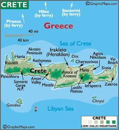 Hania, Crete, my other home