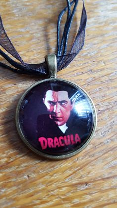 Dracula necklace by AwesomeOddities on Etsy