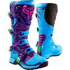 Fox 2016 LE Comp 5 Blue/Purple Boots