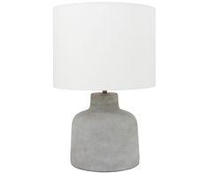 Bringen Sie Ihr Zuhause zum Strahlen: Tischleuchte Ike in Grau und Weiß und weitere Leuchten sind jetzt auf WestwingNow erhältlich