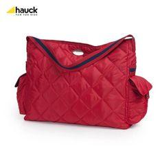 Hauck Gino - Bolso cambiador con accesorios, color rojo