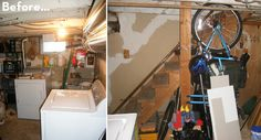 From Dark and Scary to Sleek and Modern: A Complete Basement Makeover!