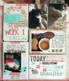 Project Life 2014 - Week #1