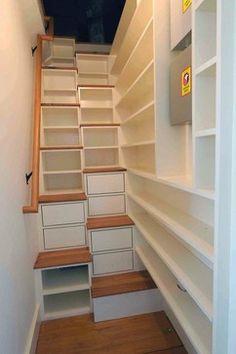 Fold Away Stairs | 866 folding stairs Storage & Closets Design Photos