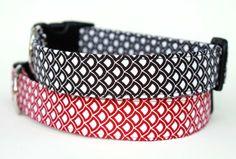 Dog Collar - Modern Scallops | LFF Designs | www.facebook.com/LFFdesigns