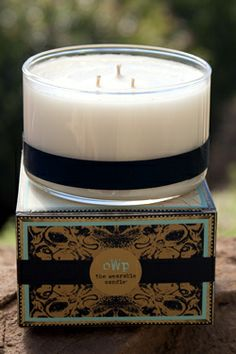 Objects With Purpose -  Dahlia, large 3 wick, $42.00 (http://objectswithpurpose.com/large-dahlia-candle/)