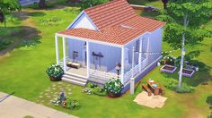 The Gnome's Hideaway Another little starter house for those sims who love outdoor activities and everything small! I hit my second hundred of followers (like, wow?? I don't know why all of you are...
