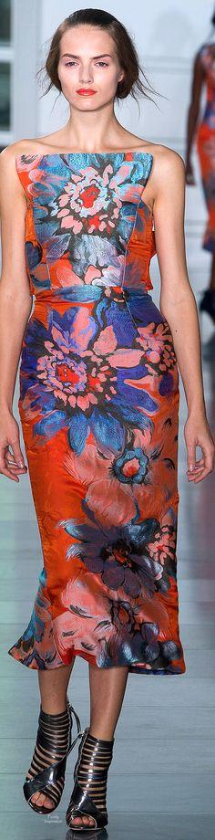 Farb- und Stilberatung mit www.farben-reich.com - Antonio Berardi Spring 2015 Ready-to-Wear