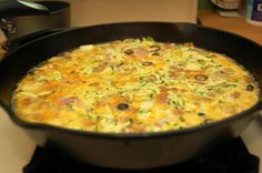 Oven Baked Zucchini Hash  @Family Living Simple