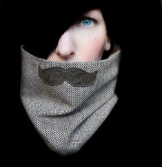 mustache scarfything!