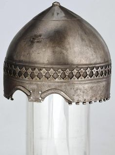 "Степные воины из эпохи миграции - 14. Век – 259 photos:early ""Turban helmet"" from the Hermitage , Iran 14.cent."