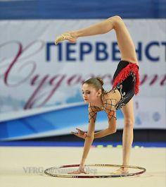 Arina Altushkina (Russia), hoop 2015