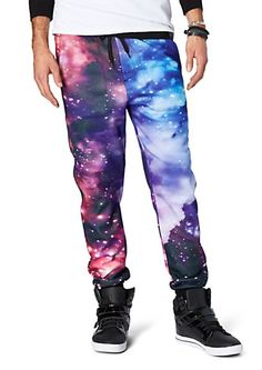 can't get much cooler than these pants Crazy Outfits, Swag Outfits, Outfits For Teens, Cool Outfits, Sport Outfits, Mens Jogger Pants, Fleece Joggers, Cheap Formal Dresses, Galaxy Leggings