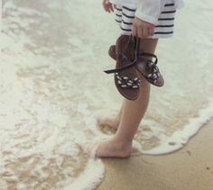 feel the ocean on your feet