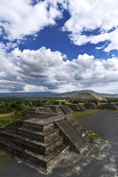 Teotihuacán, Mexico - UNESCO World Heritage Site - located NE of Mexico City, Teotihuacan is one of the oldest known archaeological sites in Mexico. (by Luke Peterson). Places Around The World, Oh The Places You'll Go, Places To Travel, Places To Visit, Around The Worlds, Travel Destinations, Beautiful World, Beautiful Places, Amazing Places