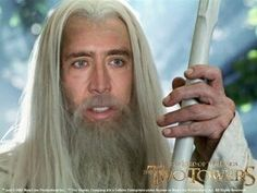 Nic Cage is Gandolf