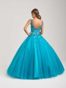 Embrace a bold pattern with this gorgeous gown. Quinceanera Dresses, Quinceanera Ideas, Ball Gowns, Most Beautiful, Allure Bridals, Formal Dresses, Eve, Colors, Tops