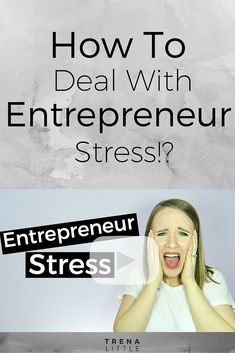 Entrepreneurship can be a crazy ride! It's filled with multiple ups and downs every day. It so important to have great ways to deal with stress to avoid burn out if you are living the entrepreneur life! I'm sharing my stress management tips to hopefully help you avoid the symptoms of burnout! Click through to watch the video!