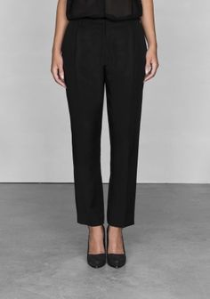 & Other Stories cropped trousers