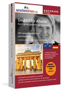Deutsch für Albaner lernen mit Langzeitgedächtnis-Lernmethode
