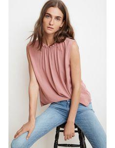 Velvet Velvet Wenna Rayon Challis Short Sleeved Top Canada, Velvet, Store, My Style, Spring, Clothes, Beautiful, Women, Fashion
