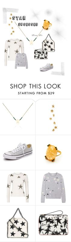 """STAR OBSESSED"" by gfgjewellery on Polyvore featuring Livingly, Converse, Valentino, Chinti and Parker, STELLA McCARTNEY and Lanvin"